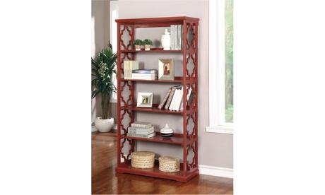Melone Red Contemporary Display Shelf 4042e729-9021-4566-8e76-7da4a1802611