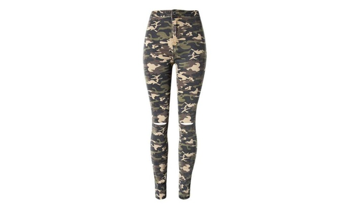 Women's Printed Casual Slim Fit Casual Insulation Trousers
