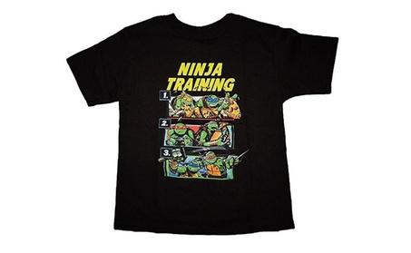 Teenage Mutant Ninja Turtles Little Boys' Ninja Training Tee fc34cc00-b884-4bd0-89d9-e72aa5584f3c