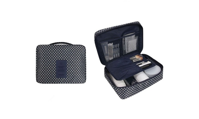 e4bb1b2857a0 Up To 83% Off on Hanging Travel Toiletry Bag W... | Groupon Goods