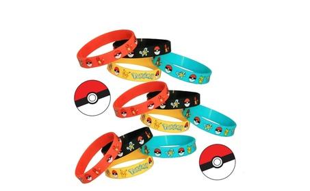 24/Set Pokemon Party Supplies Silicone Wristband Bracelet Favors caca7a17-595d-4d32-a30c-90b0d27e9472