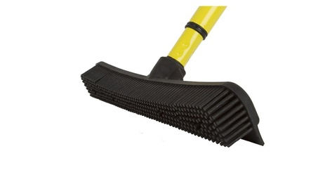 FURemover Broom with Squeegee Multi-Surface and Pet Hair Removal a7aaf439-e853-4c4b-a43f-7dc69f735e8e
