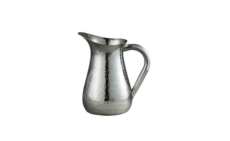 Elegance Hammered Water Pitcher High Grade Stainless Steel be3c9518-6cdc-40d8-a39b-e63fb16567bb