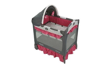 Graco Pack 'n Play Playard Travel Lite Crib, Alma 26d443e3-7a47-400f-a99c-b2c252b20a5f