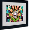 Miguel Paredes 'New Hummingbirds' Matted Black Framed Art