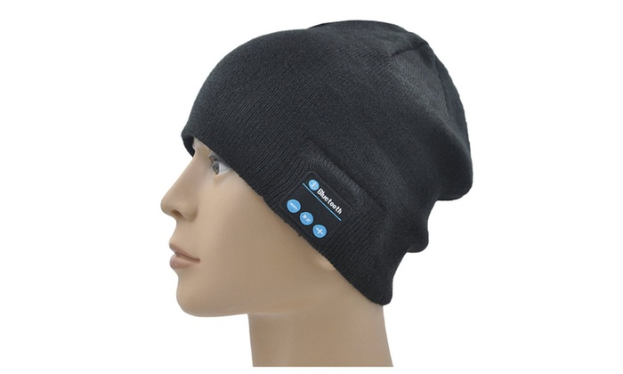 c99b072a51c Unisex Bluetooth Smart Winter Knit Hat Wireless Musical Headphones ...