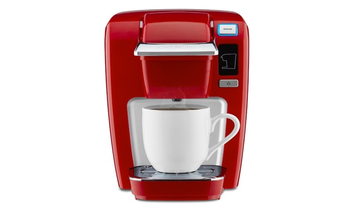 Keurig K15 Single Serve Compact K Cup Pod Coffee Maker Chili Red