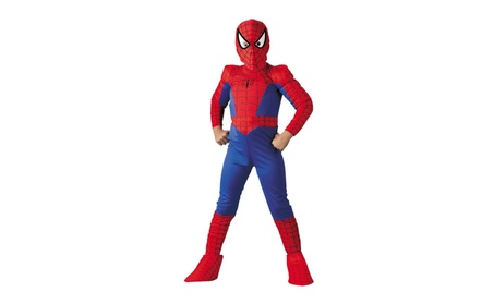 Costumes for All Occasions DG5110J Spiderman Ch Deluxe Comic 12 to 1 ccbc30a7-21b9-4702-bd06-265297178886