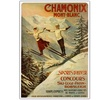 'Chamonix Mont Blanc' Canvas Art