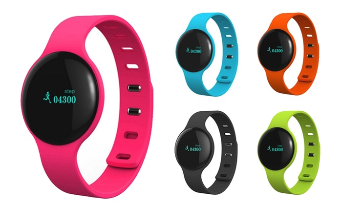 Bluetooth Smart Bracelet With Pedometer