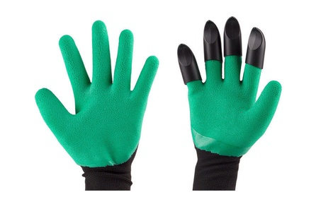 Garden Genie Gloves with Claws Digging & Planting Waterproof Gloves b2dc5840-24e6-4cfa-af34-81883fff7afe