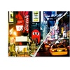 Philippe Hugonnard Times Square Night Canvas Print