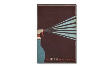 Megan Romo 'My Big Fat Greek Wedding' Canvas Art 96279f9d-52a6-4af8-96d7-39b95e8f7031