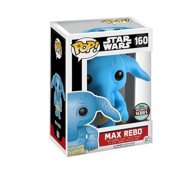 Star Wars MAX REBO #160 Specialty Series Vinyl Figure *NEW OTHER* FUNKO POP