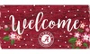 NCAA Welcome Floral 6x12 Sign