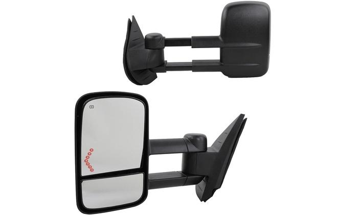For 07-13 Chevy Silverado 1500 2500HD 3500HD Tow Mirror Power Heated LH Side