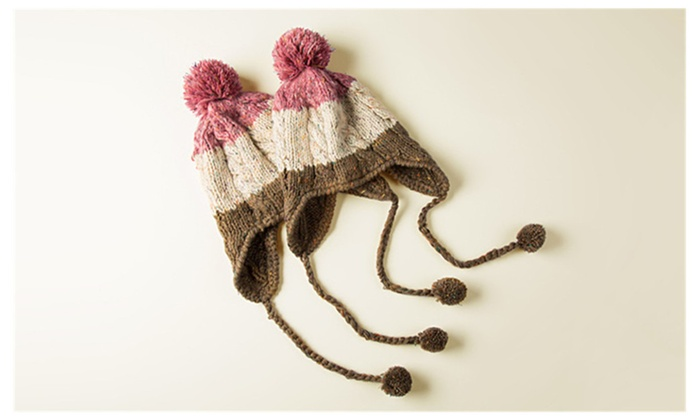 Handcrafts Winter Wool Knit 3-color Adult Series Hats