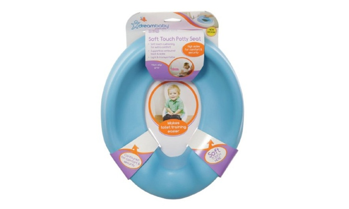 soft touch toilet seat. Dreambaby Soft Touch Potty Seat  Blue Groupon