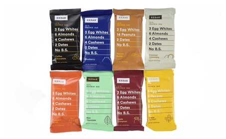 RxBar Real Food Protein Bars Variety Pack, 9 Flavors, Pack of 18