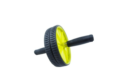 Outdoor Fitness PVC Dual Ability Cycleer Wheel Roller With Mat b82d413b-6fc0-4fd7-bc59-99cf7ecdcdc6