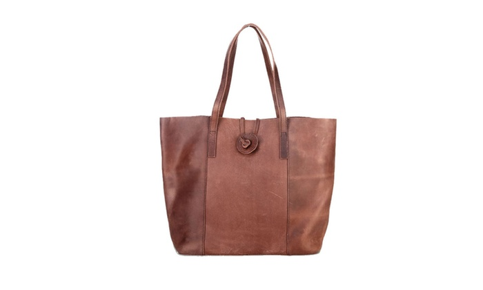 Women's Casual Stitched Details Handbag - As Picture / One Size