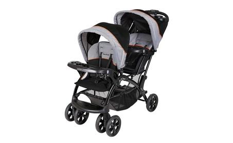 Baby Trend Sit 'N Stand Double Stroller, Millennium Orange 0b295865-dbd5-491a-b94e-b8cb2bf637a6