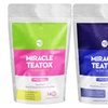 Miracleteatox Detox Tea Duo Pack 14 day detox (AM + PM)