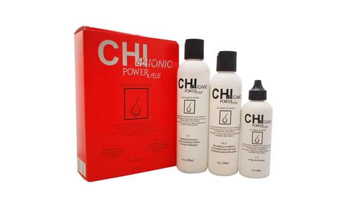 CHI Ionic Power Plus Hair Kit (3-Piece)