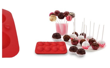 New Tasty Cake Silicone Baking Pop Guide Flex Pan Mold Tray Decorate 1e87f1d6-24eb-462c-8d05-e9767afd31bd
