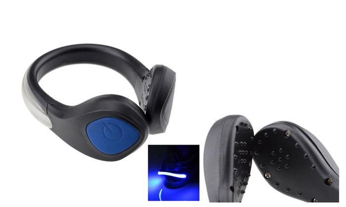Durable LED Safety Clip For Cycling & Jogging 2 PACK