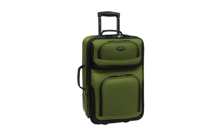 Carry-On Tote Bag Upright 2 Pc Travel Luggage Set Expandable Rolling 5defa8cb-c74d-4946-ba0f-bb9ae8d3c436