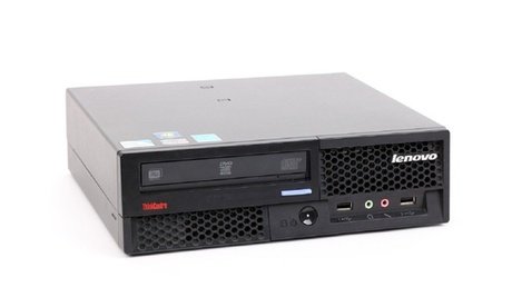 Lenovo ThinkCentre Desktop Computer with 3GHz Intel Core 2 Duo Processor, 4GB RAM, and 160GB HDD (Refurbished) d76fccb2-35e7-4362-83bc-8378b3d09398
