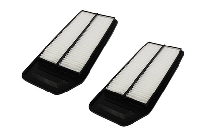 2 Rigid Panel Air Filters Fit Acura & Honda Part # A25503 & CA9564 a02f67dd-a765-4a76-b668-59ca5e75badf