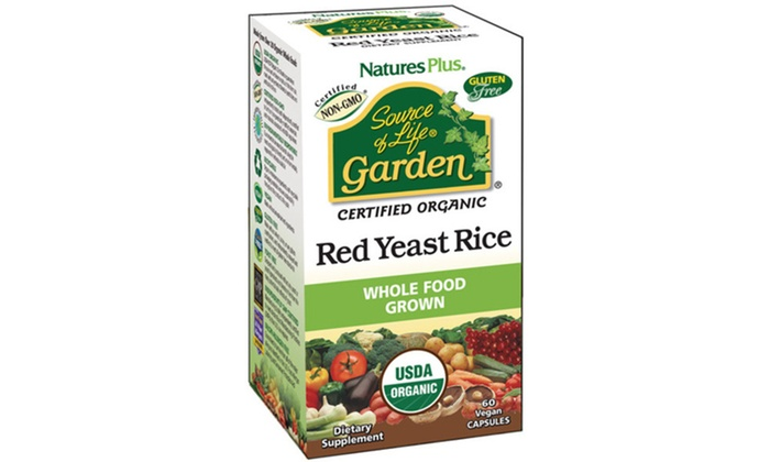 Nature S Plus Red Yeast Rice