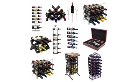 Assorted Sorbus Wine Racks (11 styles)