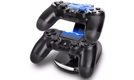 Dual USB Charger Charging Dock for Sony PS4 Controller