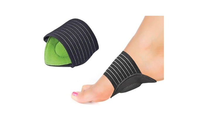 9557dc5c17 Plantar Fasciitis Cushion Foot Arch Support Heel Pain Relief Insole ...