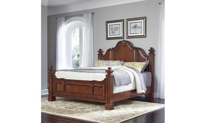 Santiago bed groupon for Beds groupon