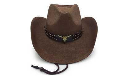 84900bbfa60 Shop Groupon Old Stone Herder Men s Women s Unisex Cowboy Drifter Style Hat