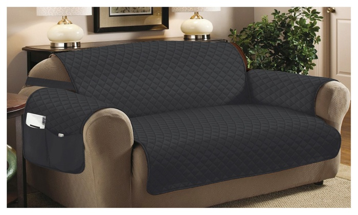 Home Sweet Furniture Protectors Quilted Sofa Cover