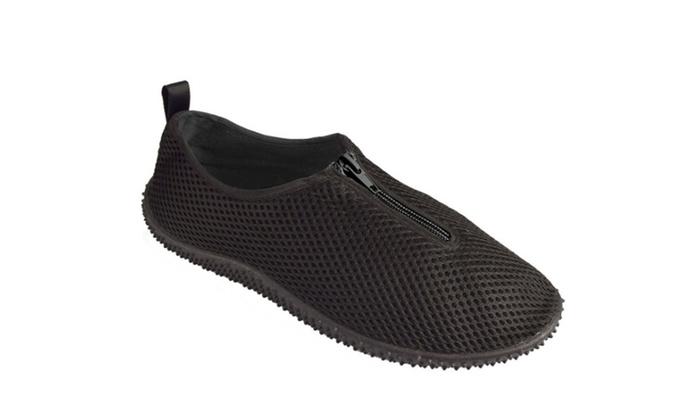 Mens Athletic Water Shoes Slip On Quick Drying Aqua Socks
