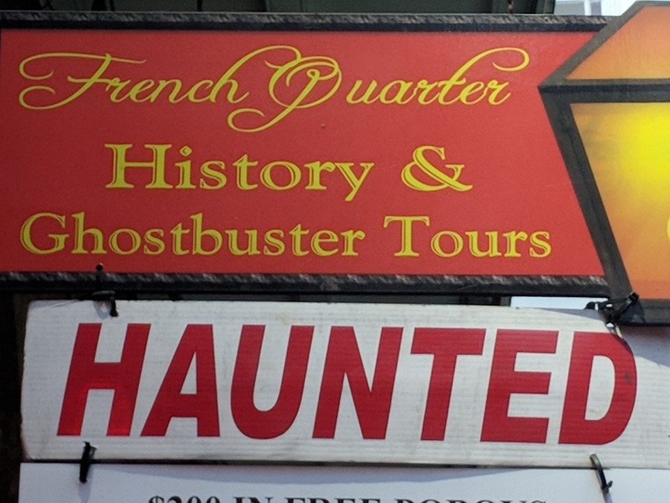 Nola History And Ghost Tours French