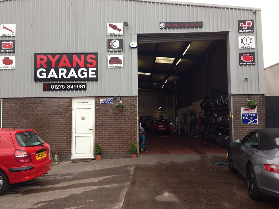 Ryans garage portishead north somerset groupon