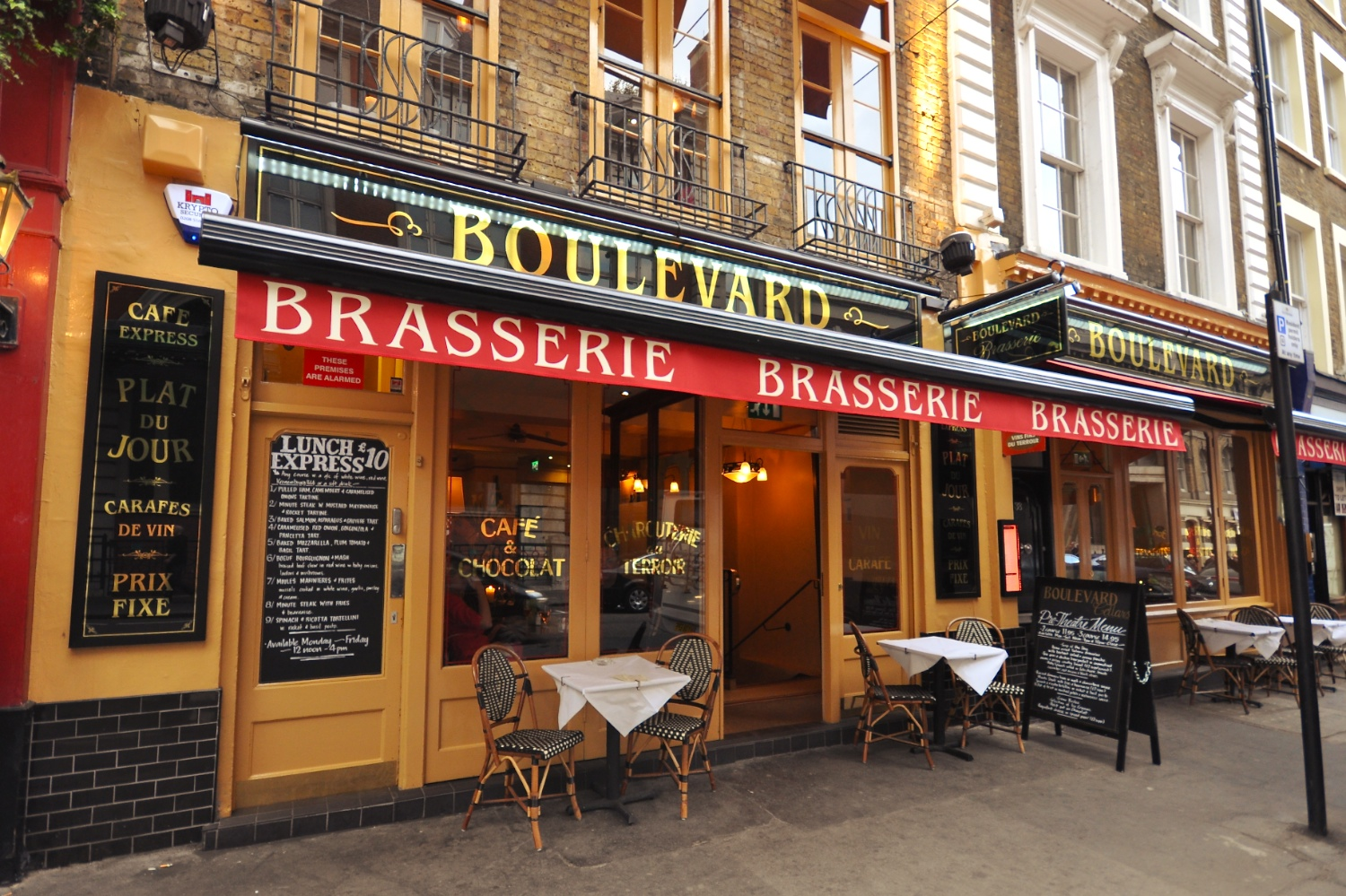 boulevard brasserie london greater london groupon